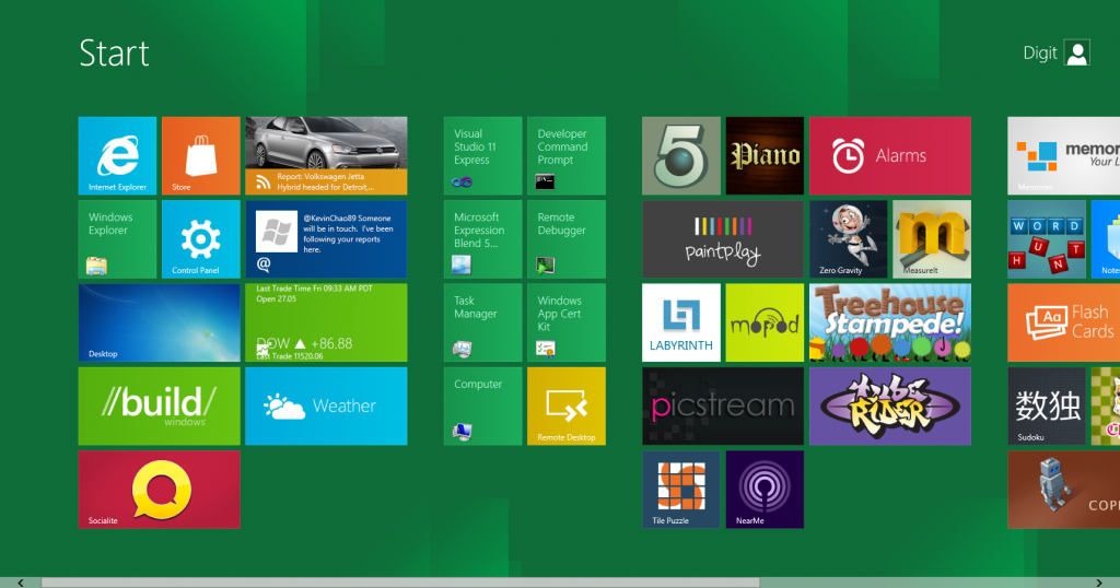 WINDOWS 8'DEN METRO TARAYICILAR